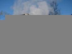 На автостоянке в Саранске загорелся полуприцеп