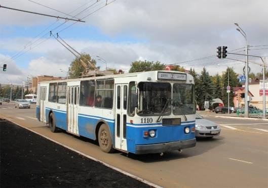 В Саранске троллейбус сбил человека на переходе