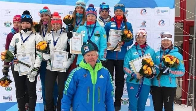 Биатлонистки сборной Мордовии стали лучшими в Тюмени