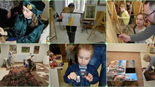 Сегодня музей Эрьзи в Саранске приглашает детей в «Нескучный музей»