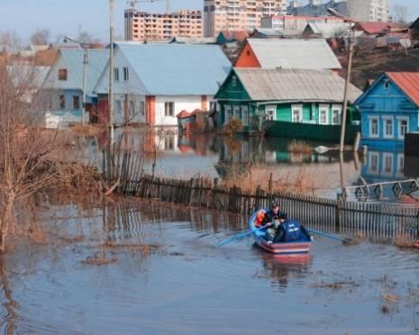 """Саранск готовится к """"большой"""" воде"""