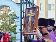 В старейший храм Саранска прибыла великая православная святыня