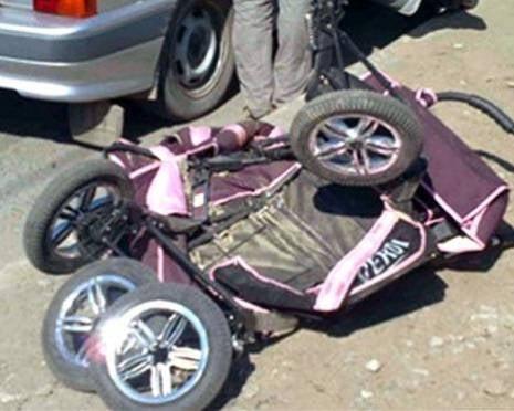 В Мордовии нетрезвый водитель сбил коляску с ребенком и скрылся