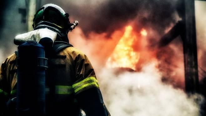 В утреннем пожаре в Саранске пострадал один человек