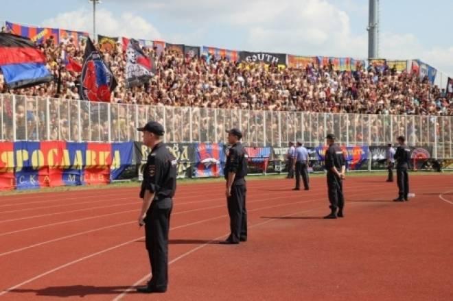 Футбольные болельщики наделали в Саранске много шума