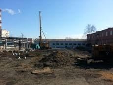 В центре Саранска возводят новую насосную станцию