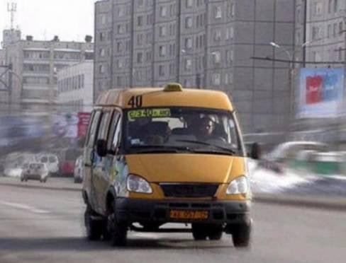 Жителей Саранска возят на неисправных маршрутках