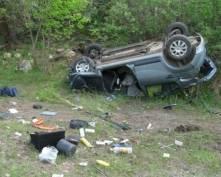 Три жителя Мордовии погибли в слетевшей с трассы «Renault-Sandero»