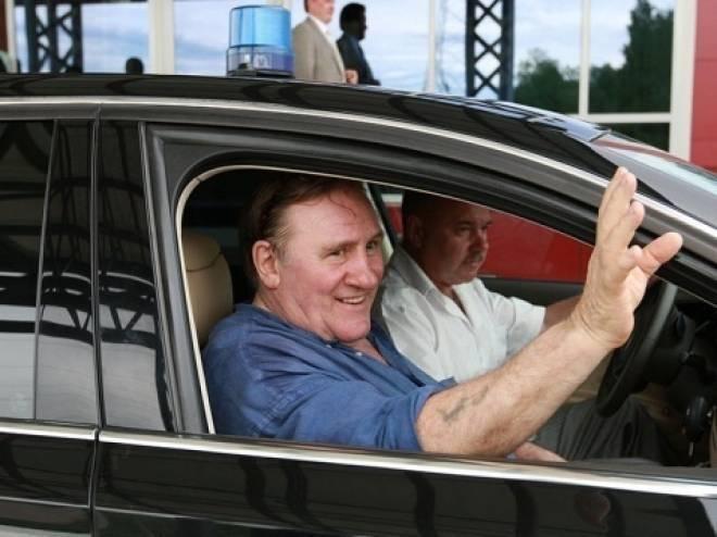 Скандал с мигалками Депардье в Саранске дошел до Путина