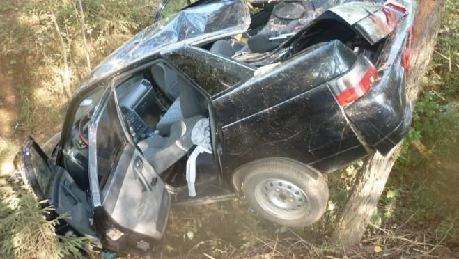 Один человек пострадал при перевороте легковушки на дороге «Саранск — Б. Игнатово»