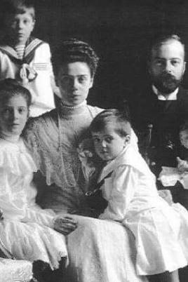 Архивы великой княгини Ксении Александровны постер