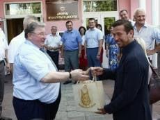 Актёр Андрей Мерзликин приехал в Мордовию для съёмок фильма о Фёдоре Ушакове