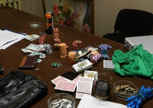 В саранской квартире организовали азартные игры