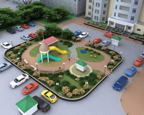 На благоустройство дворов в Саранске власти потратят 45 млн рублей