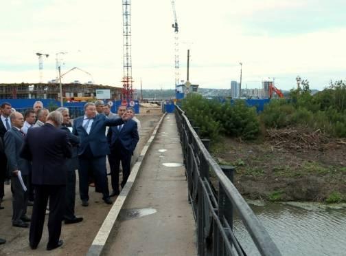 В Саранске на реке Инсар появятся пристани и байдарочники