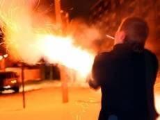 В Мордовии москвича чуть не убило фейерверком