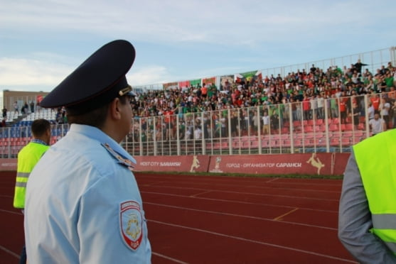 У полиции Саранска нет серьезных претензий к фанатам «Локомотива»