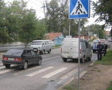 В Саранске «Газель» переехала женщину-пешехода