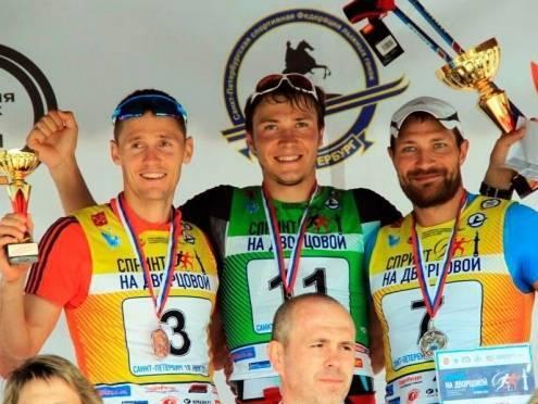 Алексей Петухов стал вторым на спринте в Петербурге