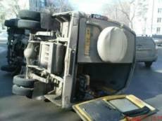 В Саранске машина спасателей, не доехав до места пожара, попала в аварию