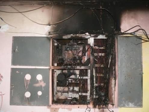 Из-за утреннего пожара из саранской многоэтажки эвакуировали жильцов