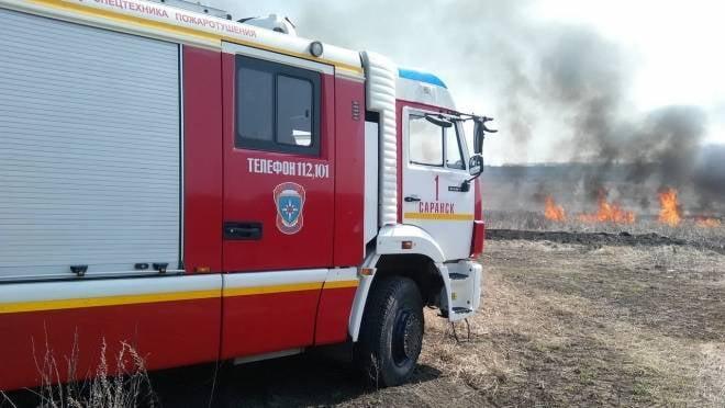 Высокий риск пожаров не даст отдохнуть сотрудникам МЧС Мордовии в выходные