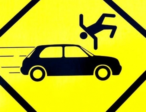 В Луховке водитель иномарки сбил пешехода и уехал