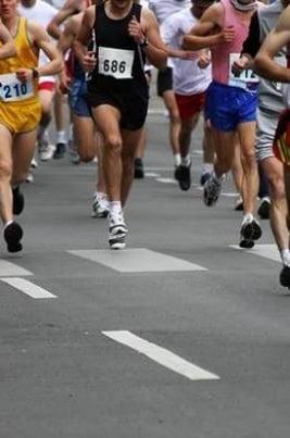 Республиканский легкоатлетический пробег постер