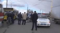 В Мордовии столкнулись автобус и автомобиль ДПС: погиб сотрудник полиции