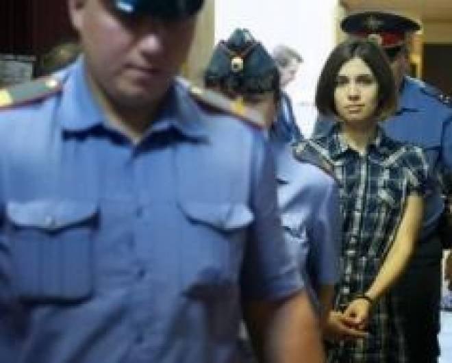 Надежда Толоконникова из Pussy Riot будет отбывать срок в Мордовии