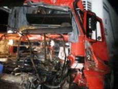 В Мордовии при столкновении с тягачом погиб водитель грузовика