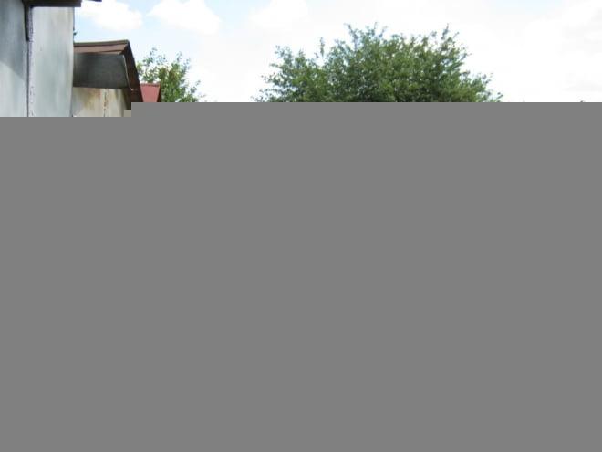 В Октябрьском районе сгорело шесть гаражей