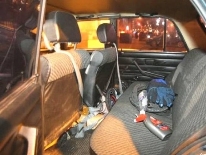 Машина из Мордовии устроила переполох в Ульяновске