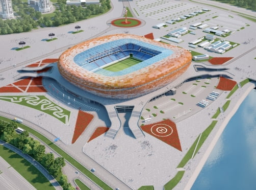 Название стадиону в Саранске придумывает вся Россия