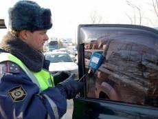 Руководство Госавтоинспекции Мордовии лично занялось тонированными авто