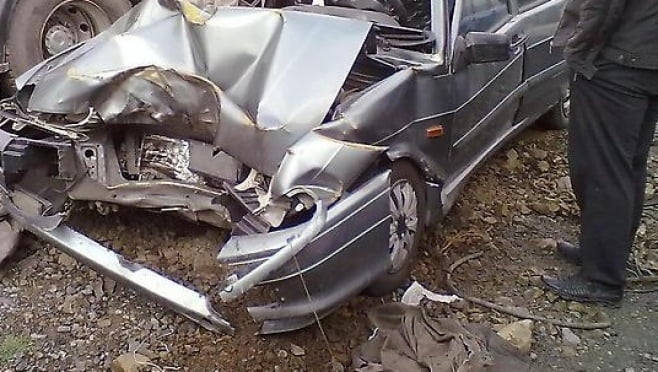 На трассе «Саранск — Б. Игнатово» водитель легковушки протаранил стоящий трактор