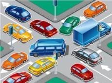 Мордовские водители теряются на перекрёстках