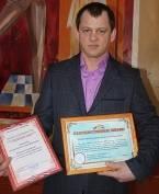 В Мордовии наградили добровольца-новичка