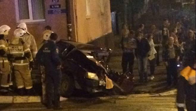 В ГИБДД назвали виновника жесткого столкновения 4 машин в Саранске