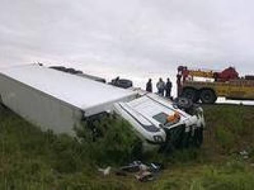 В Мордовии в аварии большегрузов погиб человек