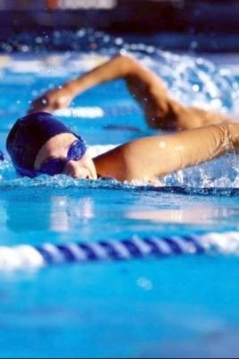 Чемпионат и первенство России по плаванию постер