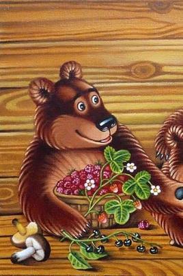 Три медведя постер