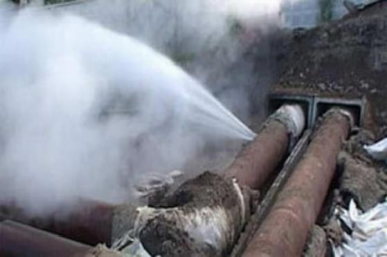 В Саранске в центре города произошла крупная авария на тепломагистрали