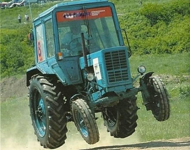 В Мордовии трактористов поймали на множестве нарушений