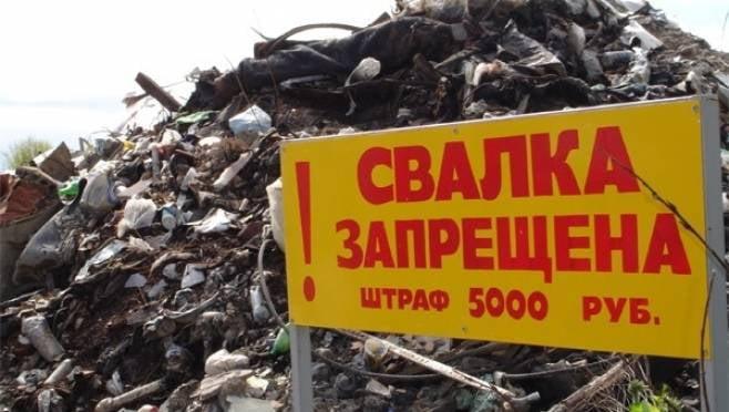 Чиновника в Мордовии наказали за свалку с резиновыми изделиями и фрагментами одежды