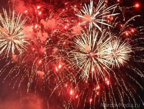 Праздничный фейерверк в Саранске прогремит в 22 часа