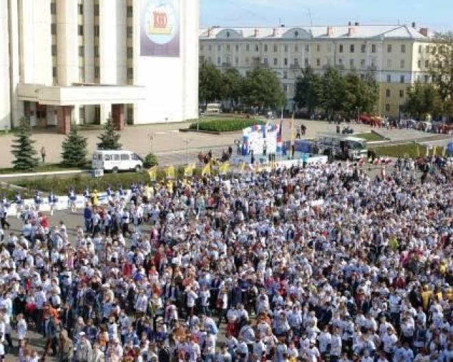 Сегодня в Саранске - Всероссийский день бега