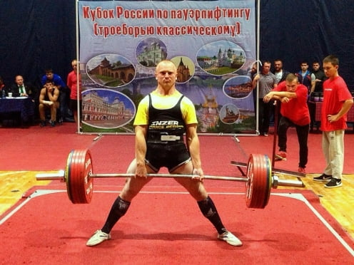 Спортсмен из Саранска – победитель Кубка России по пауэрлифтингу