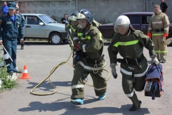В Мордовии выбрали лучшую пожарную дружину
