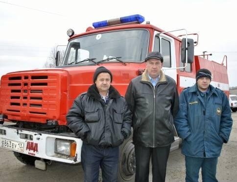 МЧС: пожарное добровольчество в Мордовии доказало эффективность своей работы